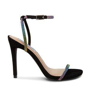 Steve Madden Rainbow Rhinestone Sandals